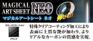 ハセプロ MSN-PH58 Nワゴン・カスタム JH1 H25.11〜 マジカルアートシートNEO ピラー スタンダードセット ブラック カーボン調シート