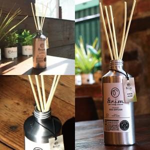 【3個セット】G.r.i.m. リードディフューザー ココナッツ 部屋 消臭剤 芳香剤/ノル OA-GRM-4-4