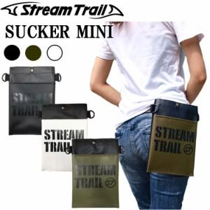 ゆうパケット対応1個迄 STREAMTRAIL ストリームトレイル サッカーミニ 小型ショルダーバッグ Sucker Mini