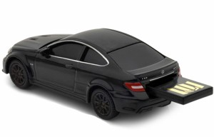 送料無料 AUTODRIVE オートドライブ8GB メルセデスベンツ C63 AMG ブラック USBメモリー
