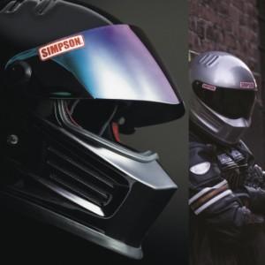 送料無料 SIMPSON シンプソンヘルメット バンディット BANDIT ホワイト フルフェイスヘルメット SG規格全排気量対応