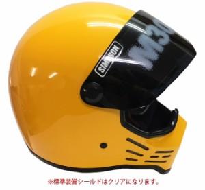 送料無料 SIMPSON シンプソンヘルメット モデル30  M30 YELLOW フルフェイス イエロー Model30 SG規格