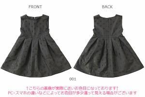6bf2fa159da2c 子供服 ワンピース キッズ 韓国子供服  ドットジャガーワンピース 女の子 ワンピース ブラック  M0-0 ×送料無料