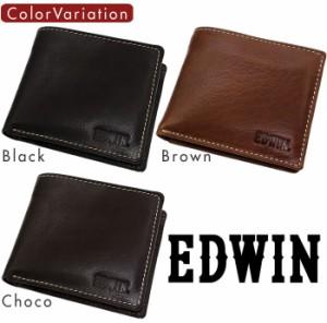 cf7eddd41939 メンズ財布 短財布 二つ折り 折財布 本革 エドウィン EDWIN ブランド 財布 0510430【激安】【SALE】