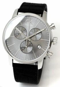 【送料無料】腕時計 カルバンクライン CALVINKLEIN メンズ 男性  シティ クロノグラフ グレー×ブラック K2G271C3 【激安】 【SALE】