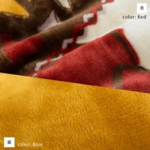 【送料無料】薄掛け こたつ掛け布団 「マイン」正方形 190×190cm 北欧デザイン 両面フランネル 撥水加工 ( 北欧 フランネル 薄型 )