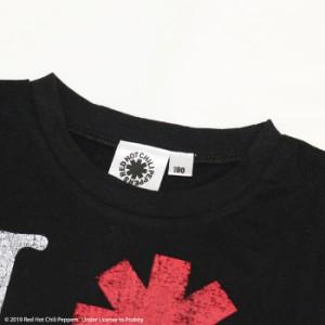 ee6f848821b93 ベビー キッズ 子供服 RED HOT CHILI PEPPERS レッチリ 半袖 Tシャツ ロゴ 天竺 男の子 夏 80 90 95 100 110  120 130 140cm