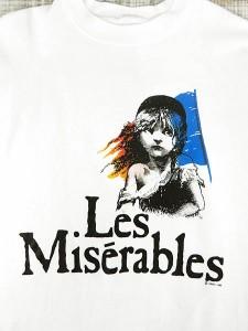 レディーススウェット古着 80s Les Miserables ミュージカル ロゴ