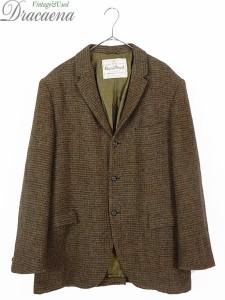 古着 ジャケット 60s Glaser Brothers × Harris Tweed ハリス ツイード ウール テーラード ジャケット 40位 古着