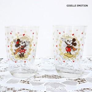 【名入れ無料】ディズニー正規品 結婚祝い ソックスペアグラス