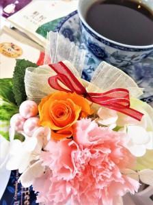 5/3まで早割 送料無料【母の日ギフト】プリザーブドフラワーと選べる自家焙煎コーヒー・紅茶