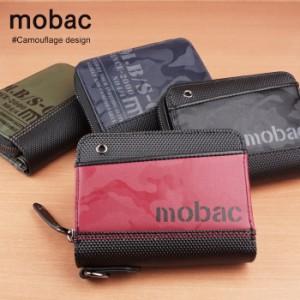 904b27abb655 財布 二つ折り財布 メンズ ラウンドファスナー ツートンカラー バイカラー 4色展開 カジュアル mobac