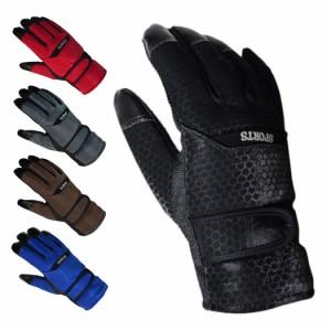 手袋 メンズ グローブ おしゃれ 暖かい あったか 裏起毛 防寒 保温 アウトドア スポーツ スノー 釣り バイク 自転車 男性用 調節ベルト