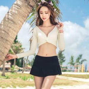 04e0d2a3bde レディース 水着 体型カバー スカート ボトム パンツ 単品 下 韓国 ファッション SHEBEACH シービーチ ハイウエスト ショーツ