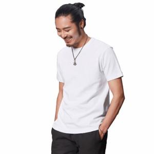 Tシャツ トップス メンズ 1点 半袖 ナチュラル シンプル スポーティー コットン素材 無地 可愛い お洒落 スタイルアップ 大人 男性用