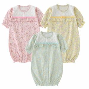 f06d7fb070fe04 スウィートガール長袖ツーウェイオール[ベビー服][赤ちゃん][服][ベビー
