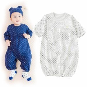 e759f16d5c476 ボンシュシュ長袖ツーウェイオール ベビー服  赤ちゃん  服  ベビー