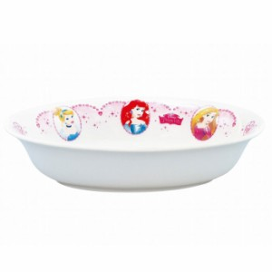 ディズニー プリンセス カレー皿 金正陶器