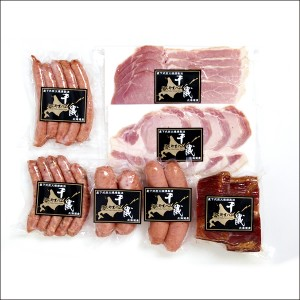 送料無料 にくやまハム 黒ラベルギフトセットB 【肉の山本 ジンギスカン 成吉思汗 グルメ ギフト】