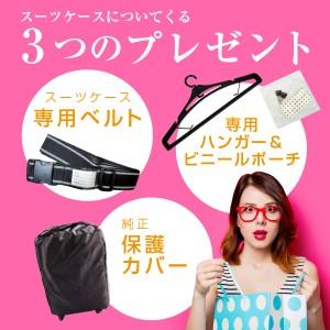 キャリーケース キャリーバッグ スーツケース Lサイズ LMサイズ 大型 送料無料 軽量 保証付 鏡面加工 PC7000