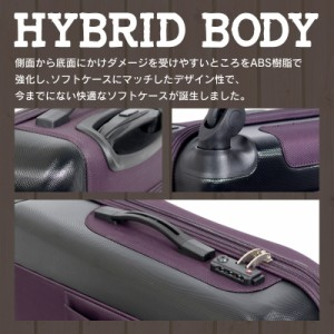 キャリーケース キャリーバッグ スーツケース Mサイズ newCRUST 中型 保証付 送料無料