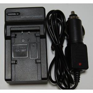 PANASONIC VW-VBK180/360対応互換急速充電器(カーチャージャー付属)
