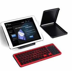 【送料無料】Bluetooth キーボード タッチパッド 超薄型 無線 ワイヤレスキーボード Windows、Android、iOS対応 ☆