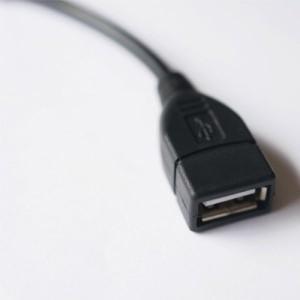 【送料無料】 タブレッド/スマホ用 microUSB(オス)-USB(メス) 変換OTGケーブル