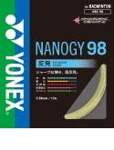 ヨネックス 【バドミントンガット/バドミントンストリング】ナノジー98(NBG98)【ゆうパケット(メール便)対応】