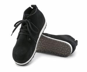 ビルケンシュトック BIRKENSTOCK ダンディープラス DUNDEE PLUS 1004859 レディース シューズ スニーカー 靴 ブラック スエード 本革