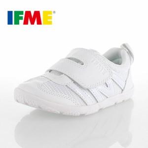 IFME イフミー 定番 内履き ベルクロタイプ SC-0005 スクールシューズ 白 ホワイト 子供靴