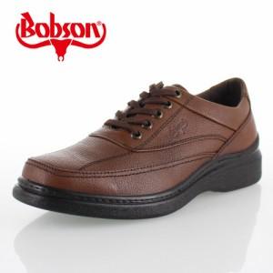 ボブソン BOBSON B5203 ダークブラウン メンズ ウォーキングシューズ ビジネスカジュアル 本革 4E