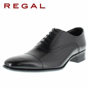 リーガルコーポレーション メンズ ビジネスシューズ ストレートチップ REGAL 725R AL ブラック 特典B