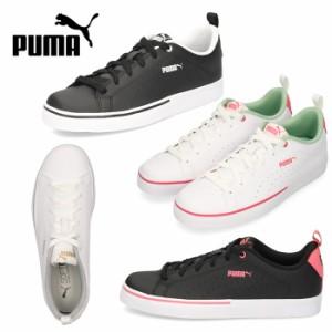 PUMA レディース ジュニア スニーカー プーマ ブレイクポイント VULC パーフ BG BG VULC BG 373651 シンプル オフィス 通勤 通学 学生