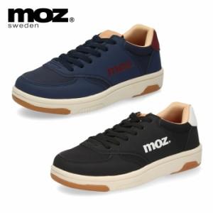 moz モズ レディース シューズ スニーカー ローカット 靴 1960 軽量スニーカー 軽い かわいい シンプル カジュアル 紐靴 ロゴ