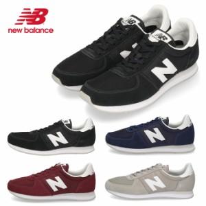 【BIGSALEクーポン対象】 ニューバランス レディース メンズ スニーカー new balance U220 AA2 AB2 AC2 AD2ブラック ネイビー レッド グ