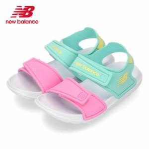 ニューバランス new balance キッズ ベビー サンダル IOSPSDCY キャンディマルチ 2072 ピンク ブルー 子供 スポーツサンダル