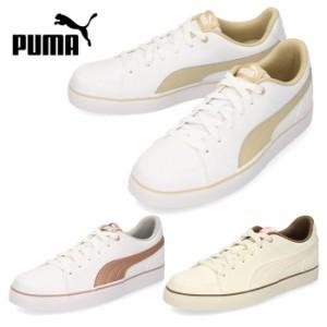 スニーカー プーマ PUMA レディース キッズ コートポイント バルク COURT POINT VULC V2 BG 362947 白 ホワイト 通学 シューズ 靴 セール