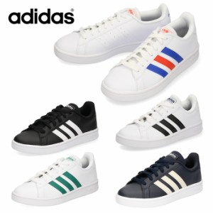 adidas アディダス メンズ レディース スニーカー グランドコートベース GRANDCOURT BASE EE7900 EE7901 EE7904 EE7905 EE7906 ブラック
