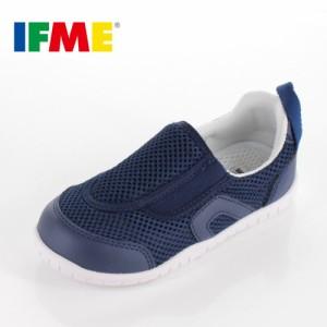 IFME イフミー 子供靴 スニーカー キッズ うわばき シューズ SC-0007 NAVY 通園 通学 運動靴 内履き ネイビー