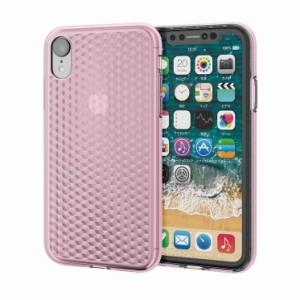 7fc2a76825 iPhoneXR ソフトケース ダイヤモンドカット 衝撃吸収素材 握りやすい キラキラ シンプル おしゃれ 大人 女子 ピンク
