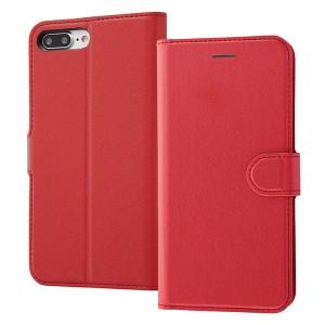 98428c6a6d iPhone8 Plus用 手帳型ケース シンプルマグネット RT-P15ELC1/R RT-P15ELC1