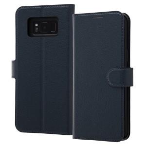 8c1bf94da3 Galaxy S8+ 手帳型ケース シンプル マグネット シンプル レイアウト ray-out RT-GS8PELC1/