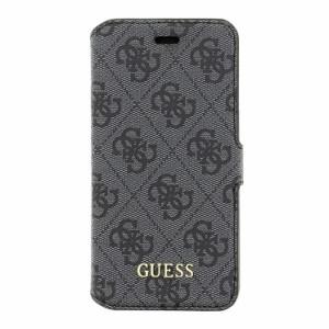 894b5864ef GUESS 公式ライセンス品 iPhoneSE/5s/5 手帳型ケース グレー ブランド カードポケット