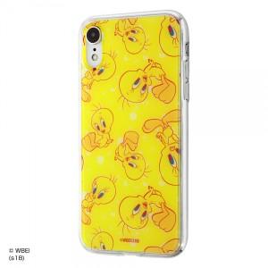 iPhone XR ハイブリッドケース トゥイーティー 耐衝撃 カバー クリア キャラ グッズ イングレム IJ-WP18TP-TW004
