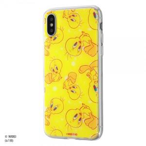 iPhoneXS iPhoneX ハイブリッドケース トゥイーティー/POP 耐衝撃 カバー キャラ グッズ イングレム IJ-WP8TP-TW004