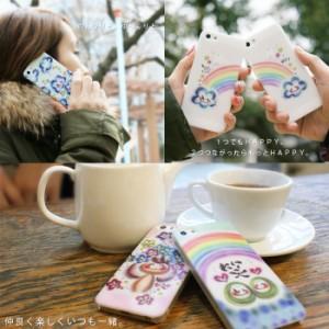 【送料無料】わだの めぐみ デザイン ケース ハード AQUOS PHONE SERIE mini SHL24  かわいい 癒し パステル カバー  笑