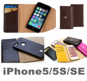 iPhoneSE iPhone5 iphone5s ケース 手帳 財布 カバー アイフォン5 スマホ レザー JS-IS5-02H