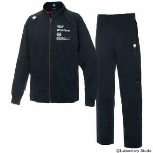 デサント DESCENTE ドライトランスファートレーニング ジャケット&ロングパンツ上下セット ブラック×ブラック