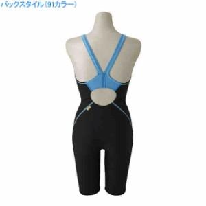 ミズノ 水泳 水球 競泳トレーニング用水着 レディース エクサースーツ ハーフスーツ  MIZUNO N2MG8278